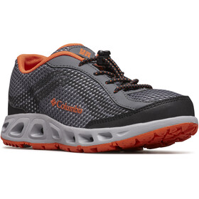 Columbia Drainmaker IV Shoes Children graphite/tangy orange